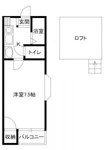 千歳ハイツ3号室
