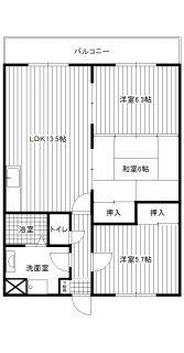 本田コーポ2号室