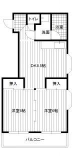 倉光ビル503 洋室